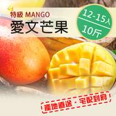 【頂級出口品質】 屏東枋山愛文芒果10斤(12-15顆)
