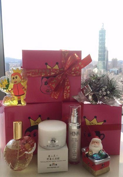 Merry X'mas 女星文汶親研 猴爺聖誕歡樂繽紛禮盒