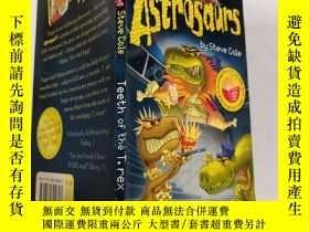 二手書博民逛書店astrosaurs罕見teeth of the T.rex 霸王龍的牙、Y200392