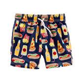 Carter's 美國童裝 泳裝 泳褲 男寶寶款 -薯條與漢堡 12M  24M