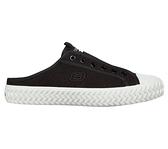 Skechers Street Trax [155386BLK] 男女鞋 休閒 帆布 穆勒鞋 輕量 避震 緩衝 黑 白