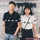 不一樣的情侶裝春裝新款韓版學生寬鬆夏裝款Polo衫短袖t恤女