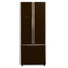 日立421公升三門對開(與RG430同款)冰箱琉璃棕RG430GBW