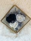 永生花四角玻璃花房,DIY材料包,附製作說明