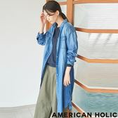 ❖ Autumn ❖ 腰綁帶牛仔連身洋裝 - AMERICAN HOLIC