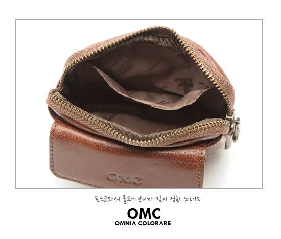 OMC - 真皮魅力款隨身口袋零錢包