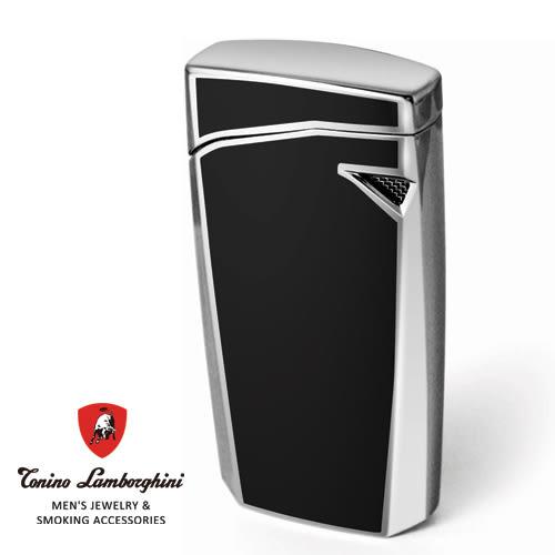 義大利 藍寶堅尼精品 - MAGIONE LIGHTER 打火機(黑色) ★ Tonino Lamborghini 原廠進口 ★