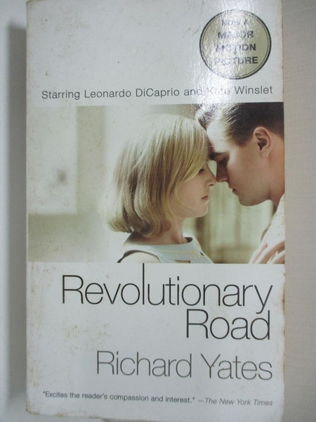 【書寶二手書T4/原文小說_IJS】Revolutionary Road_Yates, Richard