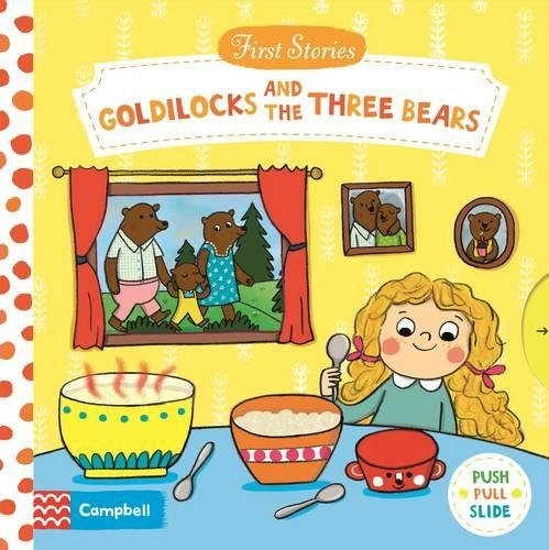 【 First Stories 童話故事(幼兒版)】GOLDILOCKS AND THE THREE BEARS /操作書 (小女孩和三隻小熊)