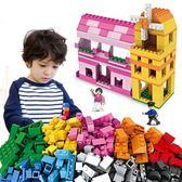兼容積木拼裝玩具益智6兒童7塑料8拼插10歲男孩子城市女孩12限時八九折