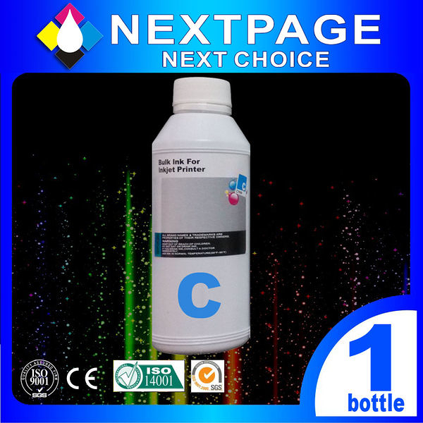 【台灣榮工 】HP 全系列 Dye Ink 藍色可填充染料墨水瓶/1000ml