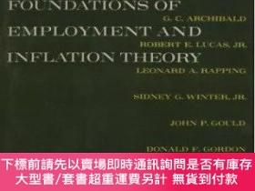 二手書博民逛書店Microeconomic罕見Foundations Of Employment And Inflation Th