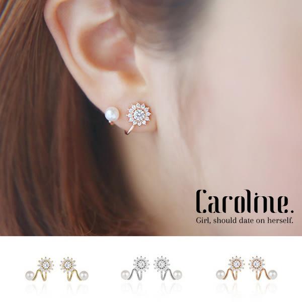 《Caroline》★韓國官網熱賣 優雅浪漫風格時尚流行耳環68857