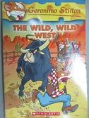 【書寶二手書T7/原文小說_CSC】The Wild, Wild West_Stilton, Geronimo