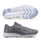 SAUCONY  女馬拉松鞋 KINVARA8 (灰*炫光) 緩衝型訓練鞋【 胖媛的店 】S10356-20