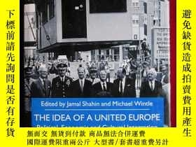 二手書博民逛書店The罕見Idea of a United Europe(英語原
