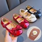 女童皮鞋時尚兒童公主鞋軟底寶寶中大童小女孩豆豆單鞋【淘嘟嘟】