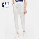 Gap 女裝 休閒風格鬆緊休閒褲 563946-白色