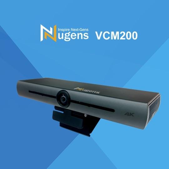 Nugens VCM200 4K智能AI視訊會議攝影機附攝影機腳架