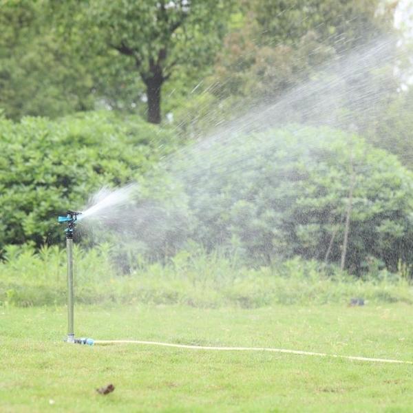 噴水頭噴灌噴頭農用灌溉搖臂噴頭園林綠化360度旋轉噴頭草坪園藝噴淋 LX 智慧e家 新品