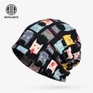 化療帽女薄款夏天睡帽女薄月子空調帽化療帽女薄光頭夏卡通包頭帽 小山好物