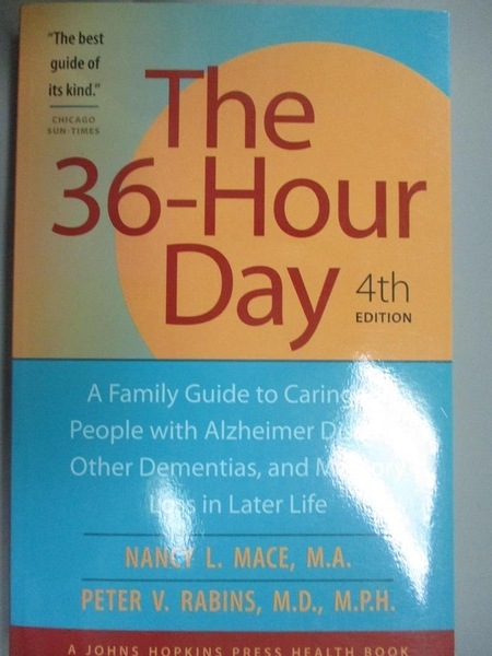【書寶二手書T1/醫療_QXU】The 36-hour Day: A Family Guide to Caring for People…