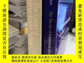 二手書博民逛書店The罕見Theory of Communicative Action 全兩卷Y191550 Habermas