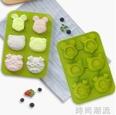 英國硅膠蛋糕模具可蒸米糕烤箱家用發糕烘焙工具烘培WD 雙十二全館免運