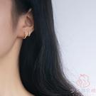 耳扣小耳圈氣質韓國圈圈耳環耳骨釘耳骨環簡約耳飾【少女顏究院】
