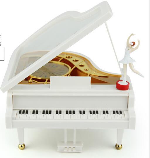 鋼琴音樂盒 旋轉跳舞芭蕾女孩八音盒 送閨蜜女生同學創意生日禮物【時尚家居館】