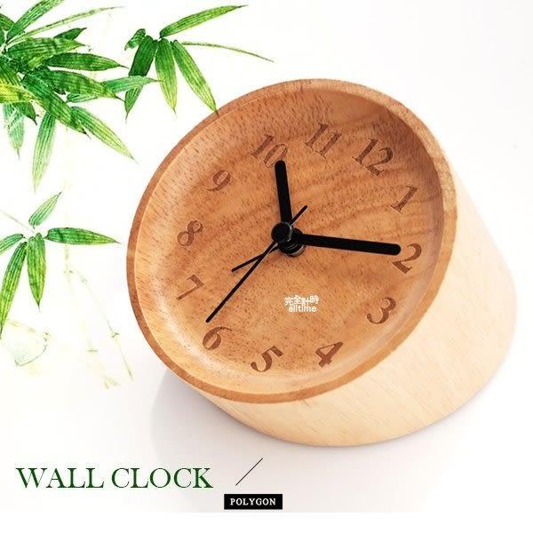 【完全計時】手錶館│極致典藏 油壓式機芯名品設計 質感竹子 靜音 大自然 座鐘 兩用 熊貓