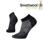 【SmartWool 美國 男款 PhD 菁英減震型跑步低筒襪《黑》】SW0SW243/排汗襪/保暖襪/抗臭襪★滿額送