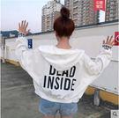 新款韓版小個子女春秋休閒bf風寬鬆學生短款蝙蝠袖棒球服外套