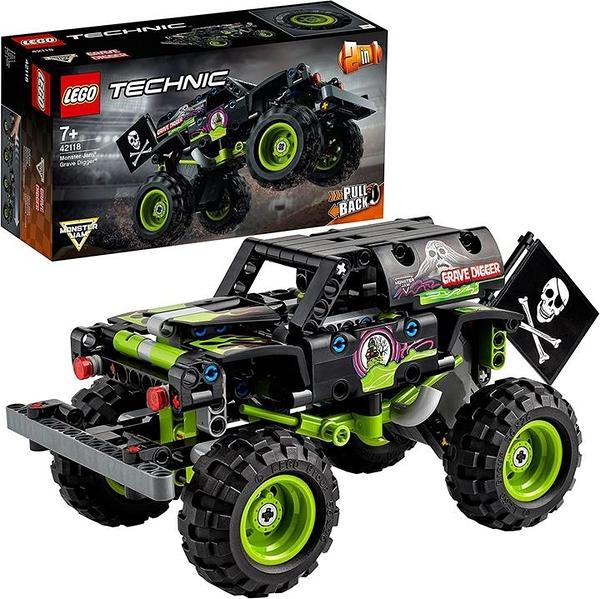 LEGO 樂高 科技系列 Monster Jam(R) 格雷布·迪格爾(R) 42118