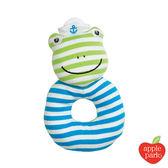 美國 Apple Park 有機棉啃咬手搖鈴 - 青蛙跳跳