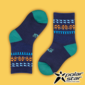 PolarStar 台灣製造 兒童保暖雪襪『深藍』P16613 MIT|刷毛|舒適|保暖襪