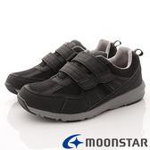 【MOONSTAR】Supplist戶外健走鞋-(4E寬楦)麂皮多重機能健走鞋-SUM1736-黑-男段(26cm-28cm)