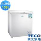 東元138L上掀式單門冷凍櫃RL1417...