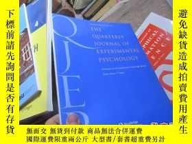 二手書博民逛書店the罕見quarterly journal of experi