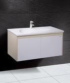 《修易生活館》 凱撒衛浴 CAESAR 面盆浴櫃組系列 貝格妮雅面盆 LF5036 B 浴櫃 EH090 龍頭 B450C