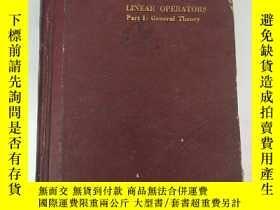 二手書博民逛書店linear罕見operators part I:general