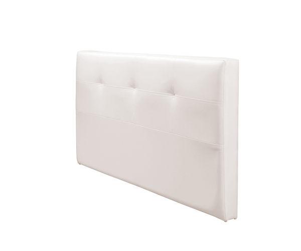 【森可家居】安寶白色5尺床片 7ZX256-2
