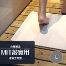 【敲實用】台灣製MBM珪藻土地墊 (尺寸:L)