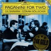 停看聽音響唱片】【CD】Paganini for Two / Gil Shaham, Goran Sollscher(24K金碟)