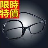 眼鏡架-時尚超輕柔韌全框男鏡框4色64ah40[巴黎精品]