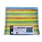 Boman 寶美 M7255 普普風條紋收納袋 A4 橫式 35x28cm