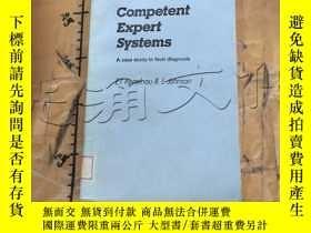 二手書博民逛書店Competent罕見Expert Systems: A Cas