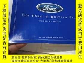 二手書博民逛書店THE罕見FORD IN BRITAIN FILE(福特汽車檔案