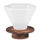 金時代書香咖啡 CAFEC DD-45 深層咖啡濾器組 3~7杯 (附量匙.濾紙)HG5568