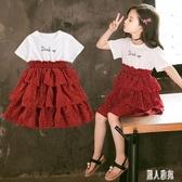 3兒童4女童洋裝夏裝5連身裙2020新款6洋氣7衣服9女孩韓版公主裙10歲潮 LR23905『麗人雅苑』